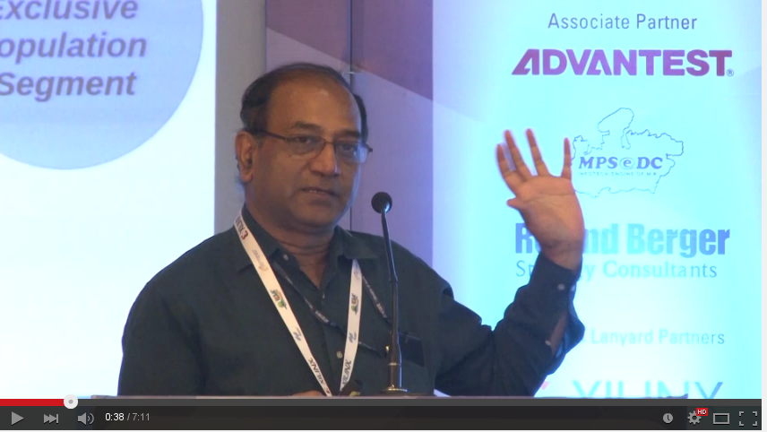 Dr. Prabhat Ranjan, Executive Director, TIFAC Deftronics 2015