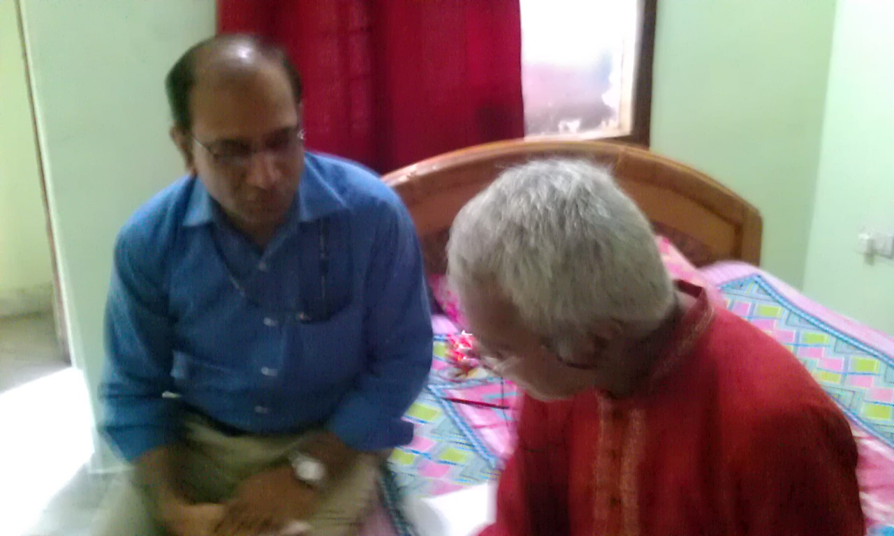 My interaction with Dr Vashishtha Narayan Singh (Vashishtha Jee) (Edited : Nov 16, 2019)